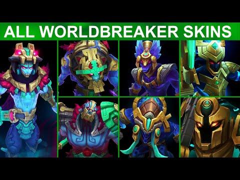 All Worldbreaker Skins 2020 (League of Legends)