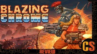 BLAZING CHROME - PS4 REVIEW (Video Game Video Review)