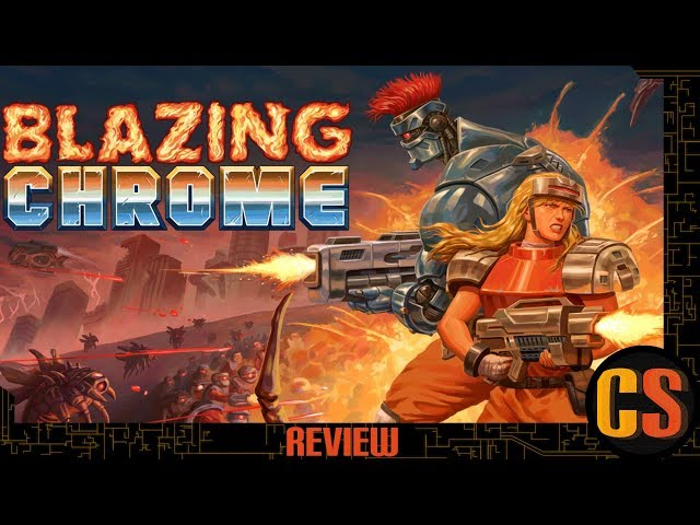 BLAZING CHROME - PS4 REVIEW