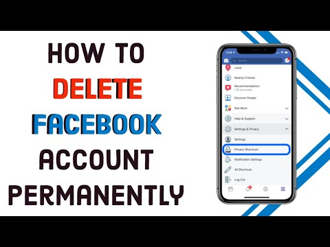 How to Delete Facebook account permanently 2020    FACEBOOK ACCOUNT DELETE   