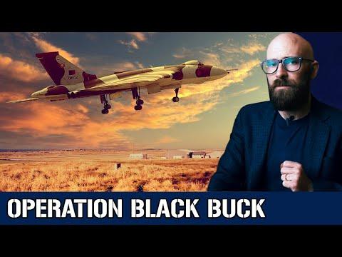 Operation Black Buck: The UK's Mega Bombing Runs in the Falklands War