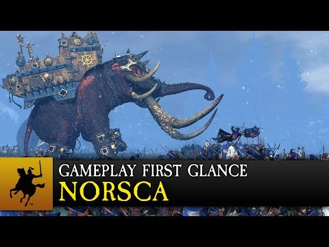 Total War: WARHAMMER - Norsca Gameplay First Glance