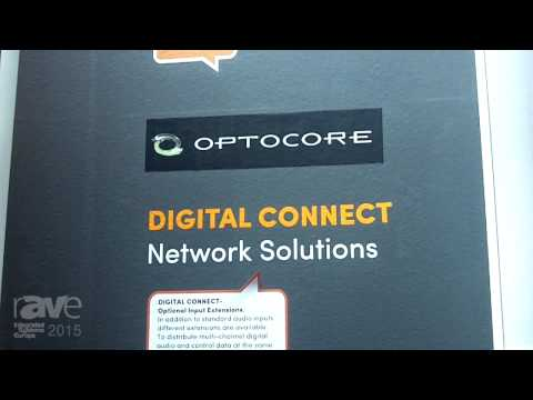 ISE 2015: Fohhn Audio Presents Optocore Digital Connect Network Solutions