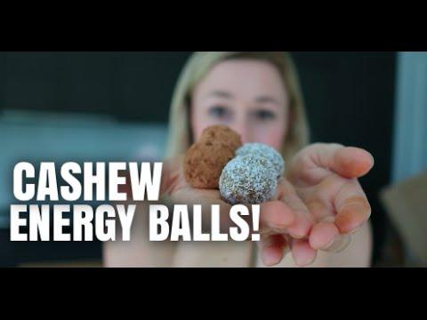 CASHEW COCONUT ENERGY BALLS!