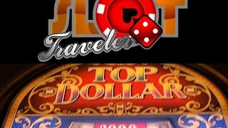 High Limit - Top Dollar 9 Line - Double Up & Foolery ♠ SlotTraveler ♠