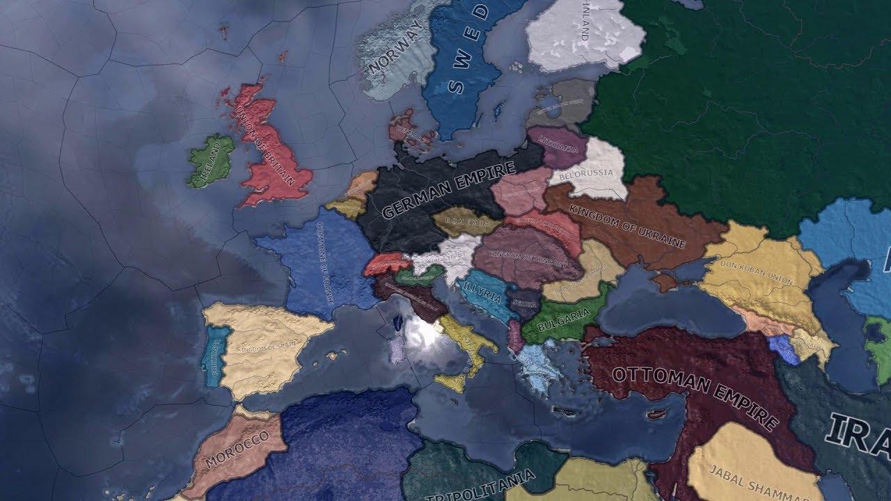 HOI4: Kaiserreich 0 6 'Garibaldi's Nightmare' Timelapse (April 2018)