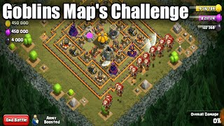 প্রথম বার Goblins Map's Challenge-Clash of clans