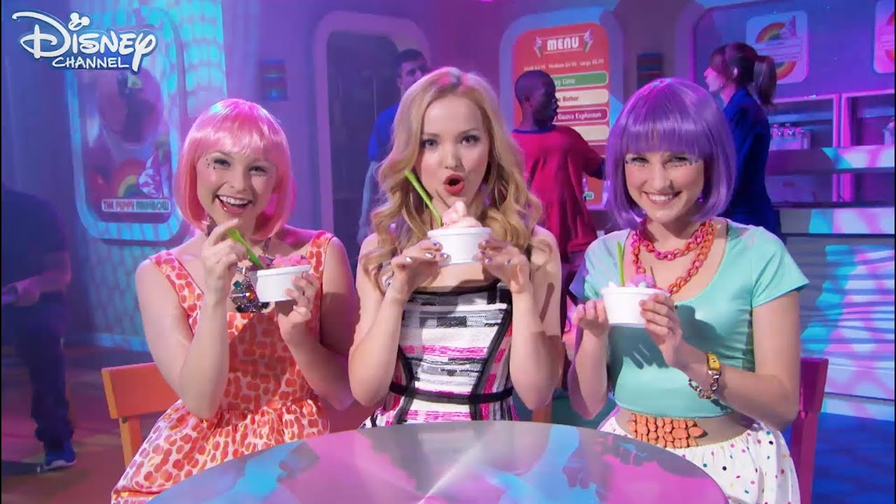 liv and maddie froyo