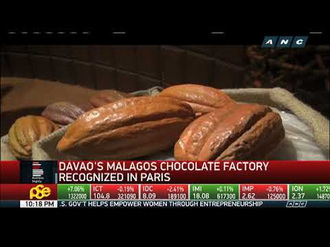 Malagos Chocolate Factory wins international recognition