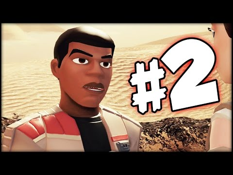 DISNEY INFINITY 3.0 STAR WARS - The Force Awakens Playset - Part 2