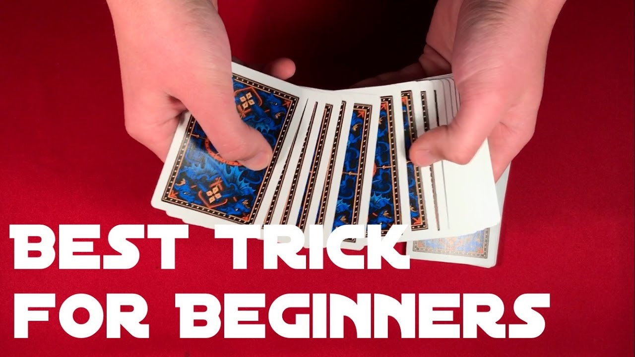 Easiest Card Trick for Beginners! - YouTube