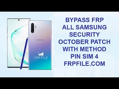 Bypass FRP ALL Samsung November security patch with method PIN SIM 4