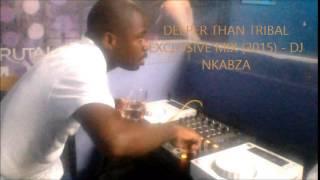 DEEPER THAN TRIBAL EXCLUSIVE MIX (2015) - DJ NKABZA