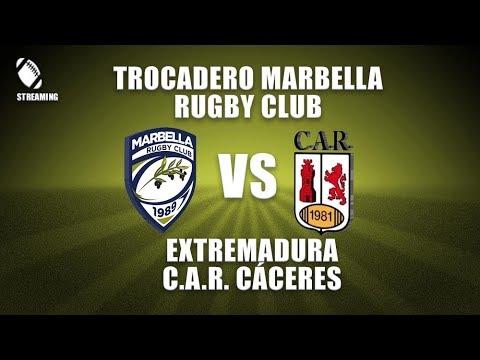 Trocadero Marbella Rugby Club VS Extremadura C.A.R. Cáceres