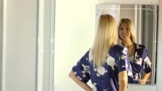 видео Зеркало-тоннель