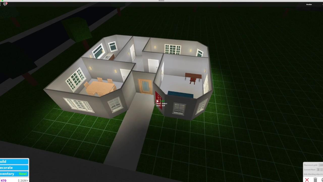 Roblox Bloxburg 10 000 House New Tutorial Youtube