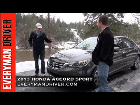 2013 Honda Accord 4DR Sport Review on Everyman Driver
