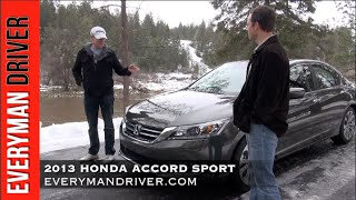 2013 Honda Accord 4DR Sport DETAILED Review on Everyman Driver
