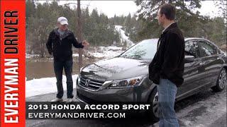 2013 Honda Accord 4DR Sport Review on Everyman Driver