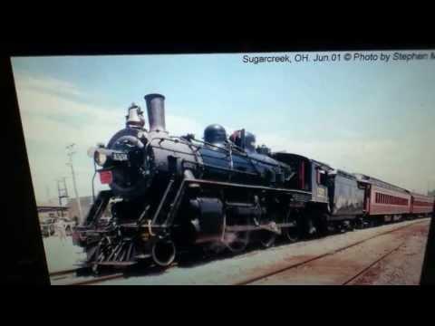 QFM96 Flashback Railroad Playlist with Ohio Central 1551 Photos