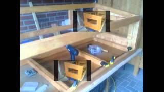 Wir bauen einen Kistenstall mit Außengehege