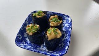 한국인이 좋아하는 속도로 만드는 성게알초밥/우니 초밥/…