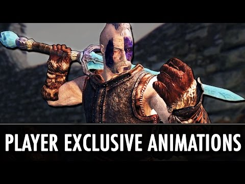 Skyrim Mod: Player Exclusive Animations - FNIS PEA2