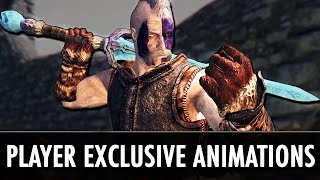 skyrim Mod: Player Exclusive Animations - FNIS PEA2