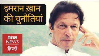 Challenges before Imran Khan in Pakistan Politics (BBC Hindi)