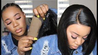 New Fake Scalp Method🤔 No More Bald Caps??? I Pre-Plucked, Pre-Bleached Bob Wig I Hairvivi