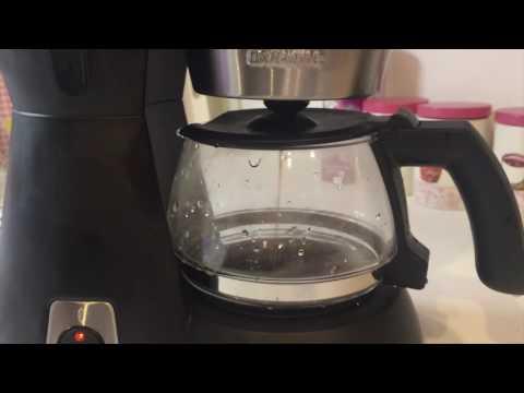 touch me cm-308 kahve makinesi filtre kahve, kahve makinesinde nasıl demlenir?