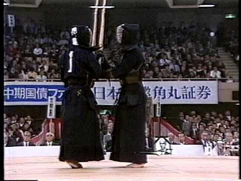 第34回(S61) 全日本剣道選手権大会 準々決勝② 外山 - 亀井