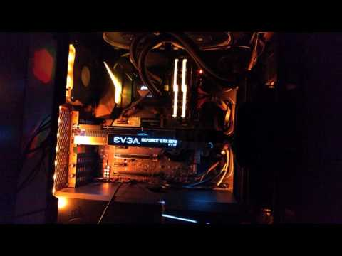 Asus Aura sync + Nvidia LED Visualizer