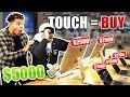 Buying Everything You Touch Blindfolded!! **$5,000+ SHOPPING SPREE**