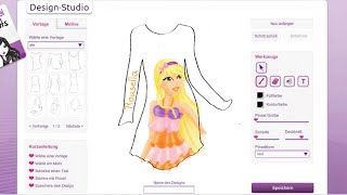 #109 Drawing TOPModel Shirtdesigner Winx Club Stella