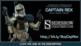Star Wars Sideshow Collectibles Captain Rex Phase II Armor 1/6 Scale Collectible Figure Review