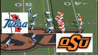 Tulsa Vs Oklahoma State Football Game Highlights 9 19 2020