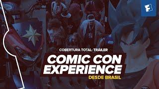 Comic Con Experience - ¡Llegamos a Brasil!