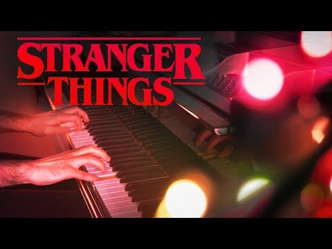 """""""STRANGER THINGS"""" Main Theme (Piano Cover, Extended Halloween Version) [TV Soundtrack, Netflix OST]"""