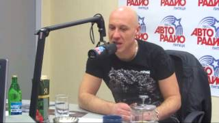 Денис Майданов в студии Авторадио Липецк.