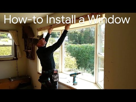How to Install a Window – How to Install Bay Window – Cheap