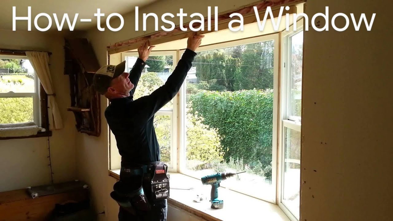 How To Install A Window How To Install Bay Window