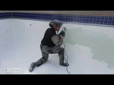 How To Paint A Concrete Swimming Pool