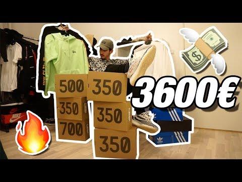 3600€ EN ROPA STREETWEAR! MIS COMPRAS DEL CANAL