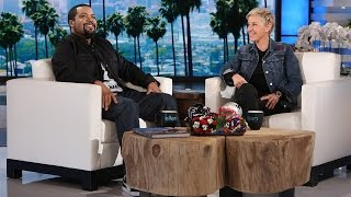 Ice cube talks 'fist fight' and football