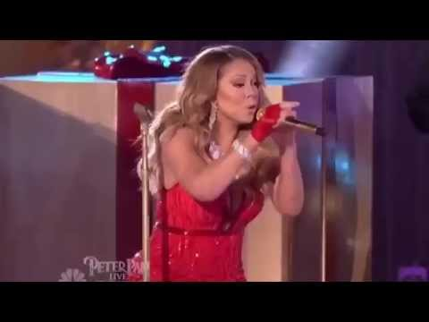 Mariah Carey VOCAL FAIL of All I Want For Christmas Is You  Performance