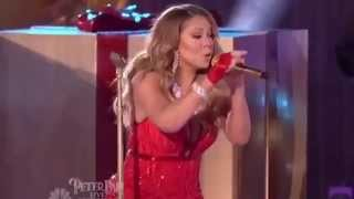 mariah carey vocal fail of all i want for christmas is you live performance