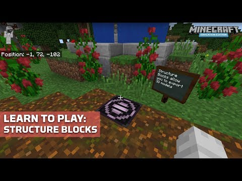 Structure Block – Official Minecraft Wiki