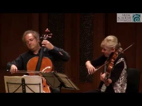 Takács Quartet Recital June 16, 2015
