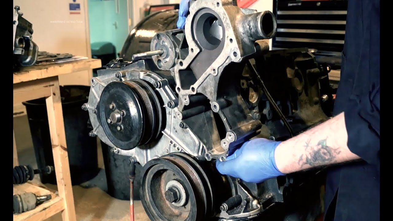 Replacing the P gasket PET 100790  300tdi engine Land Rover  YouTube